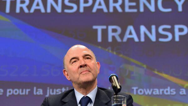 Pierre Moscovici, Commissario Europeo per l'Economia e Finanza - Sputnik Italia