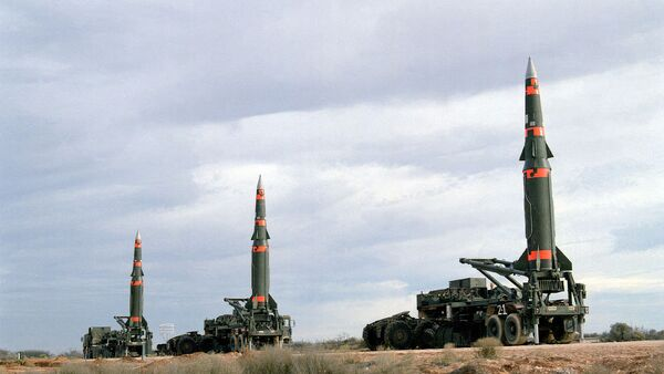 Pershing II missiles - Sputnik Italia
