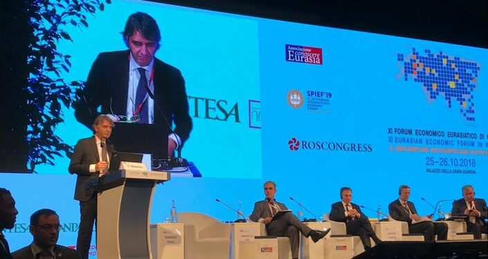 Federico Sboarina al Forum Economico Eurasiatico