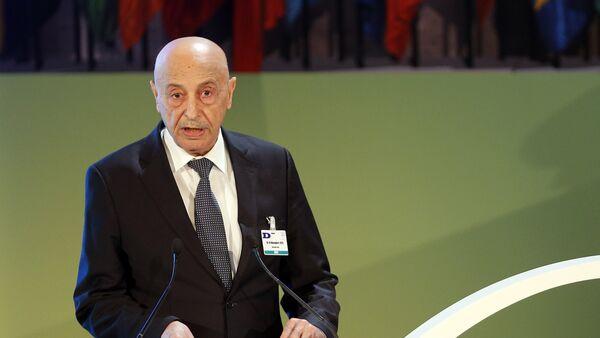 Il presidente del parlamento libico di Tobruk, Aguila Saleh - Sputnik Italia