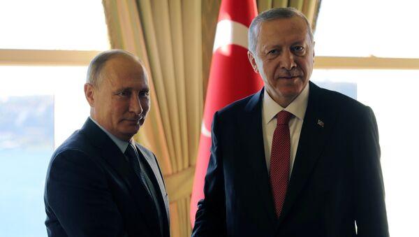 Ottobre 27, 2018, L'incontro sulla Siria tra Vladimir Putin e Recep Tayyip Erdogan - Sputnik Italia