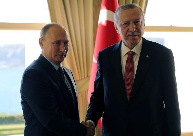 Ottobre 27, 2018, L'incontro sulla Siria tra Vladimir Putinl e Recep Tayyip Erdogan