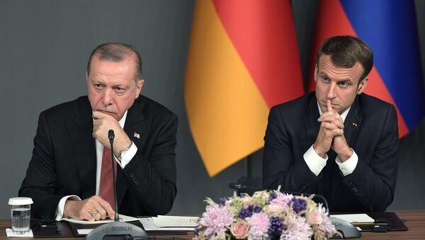 Ottobre 27, 2018, L'incontro sulla Siria tra Recep Tayyip Erdogan ed Emmanuel Macron - Sputnik Italia
