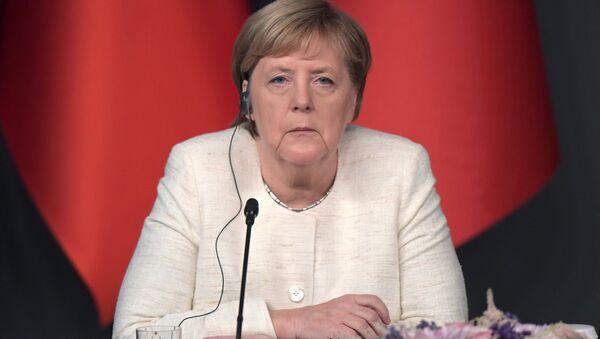 Angela Merkel durante la sua visita in Turchia - Sputnik Italia