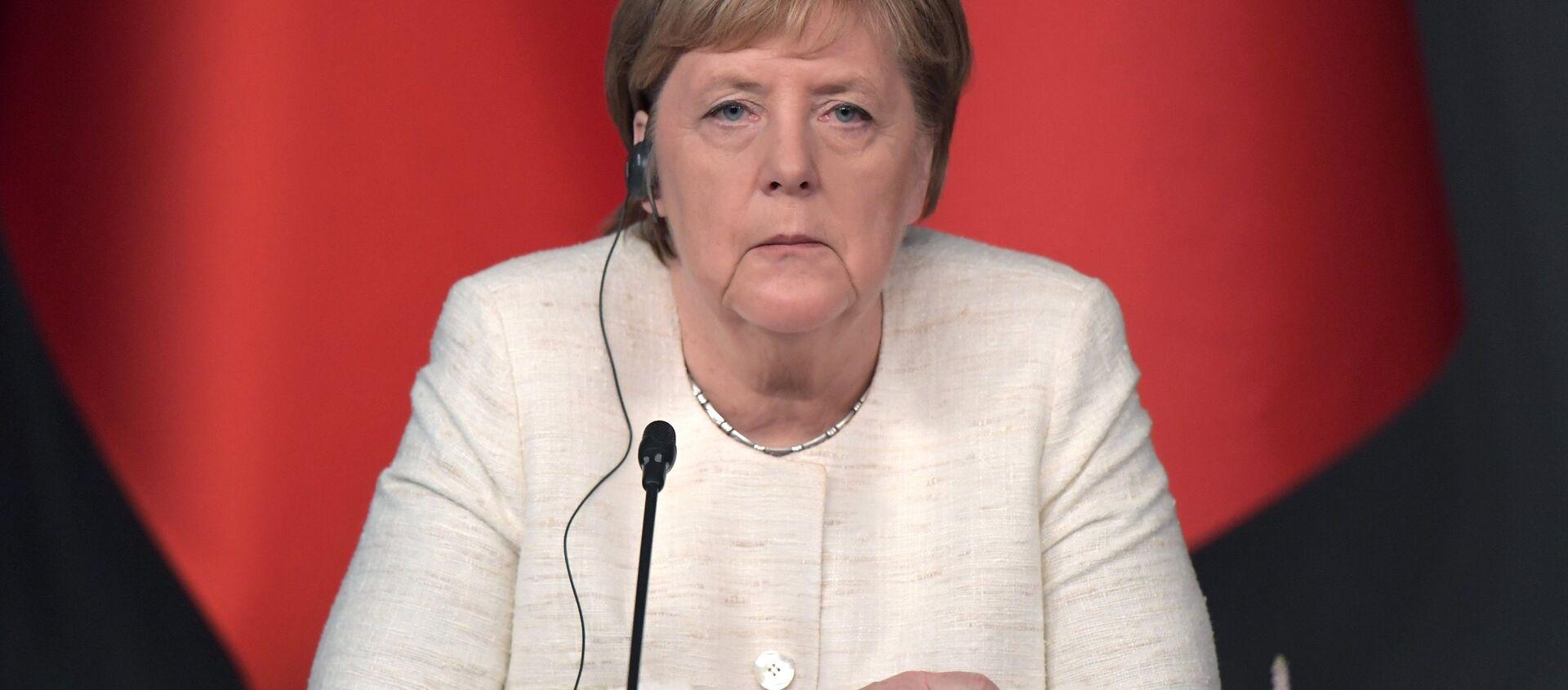 Angela Merkel durante la sua visita in Turchia - Sputnik Italia, 1920, 30.06.2019