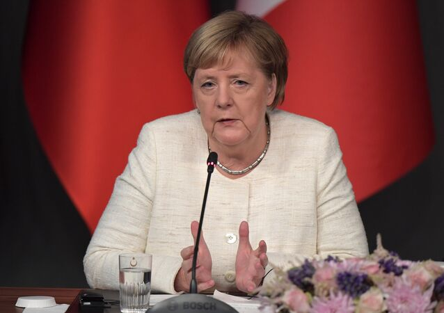 Angela Merkel (foto d'archivio)
