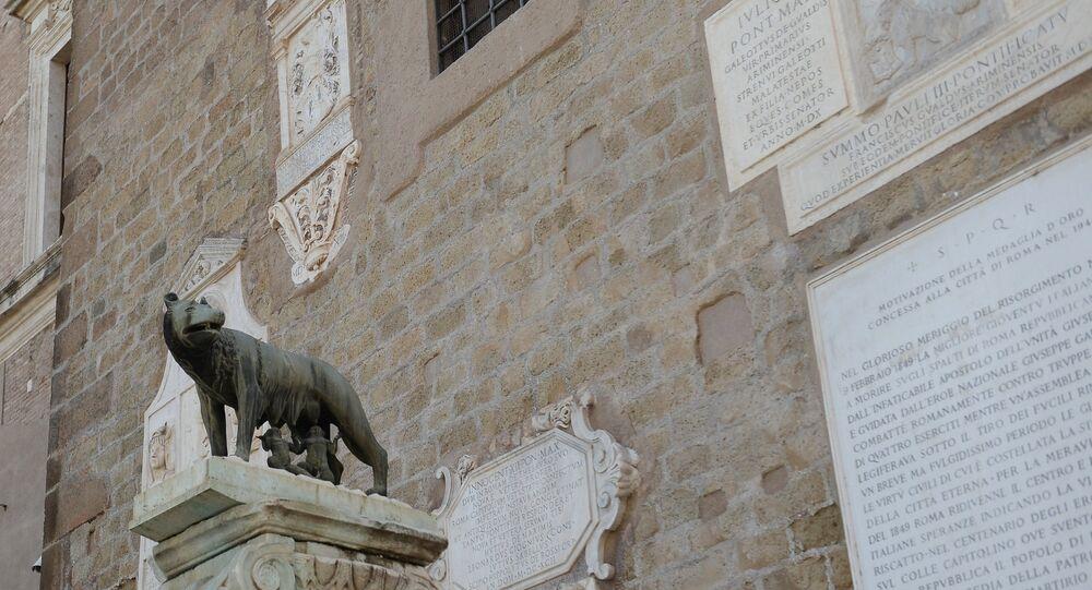 La Lupa capitolina, Roma