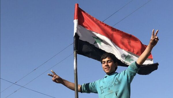 Bandiera siriana - Sputnik Italia