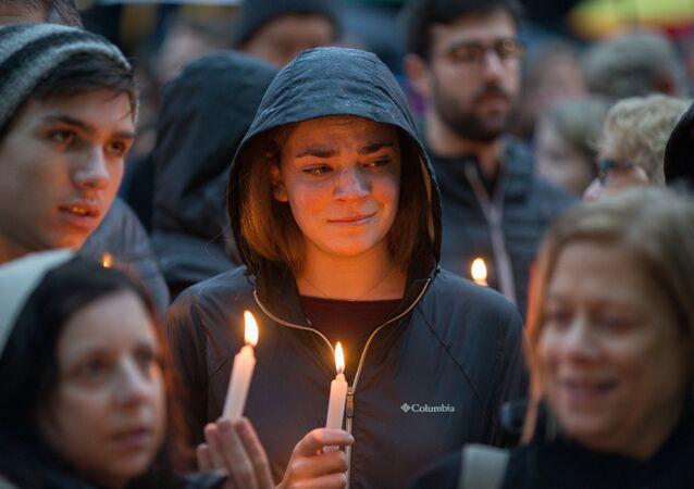 Veglia per le vittime della sinagoga di Pittsburgh