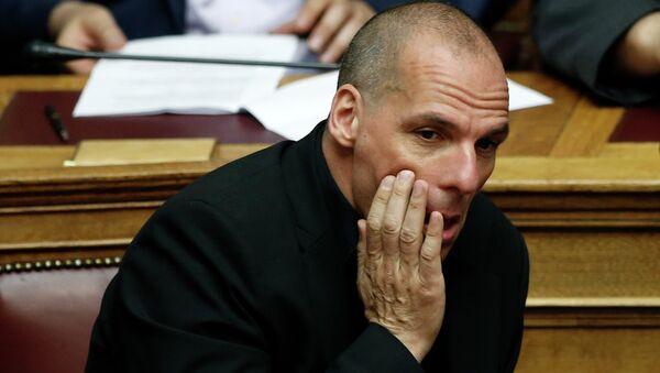 Yanis Varoufakis, ministro delle finanze della Grecia - Sputnik Italia