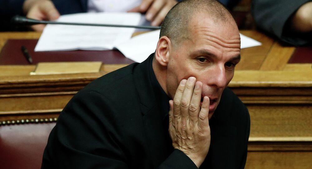 Yanis Varoufakis, ministro delle finanze della Grecia