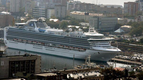 La nave Diamond Princess - Sputnik Italia