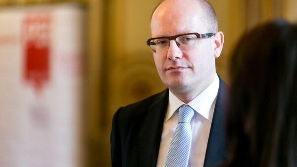 Il primo ministro ceco Bohuslav Sobotka - Sputnik Italia