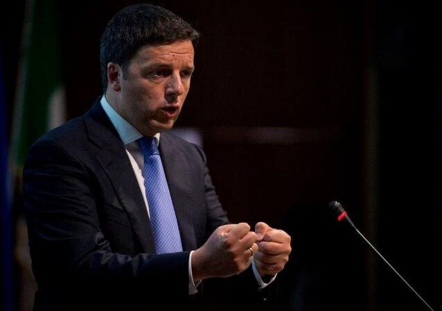 La foto del profilo Facebook di Matteo Renzi