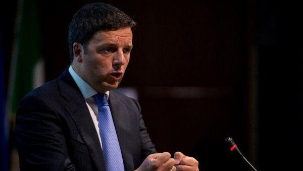 La foto del profilo Facebook di Matteo Renzi - Sputnik Italia