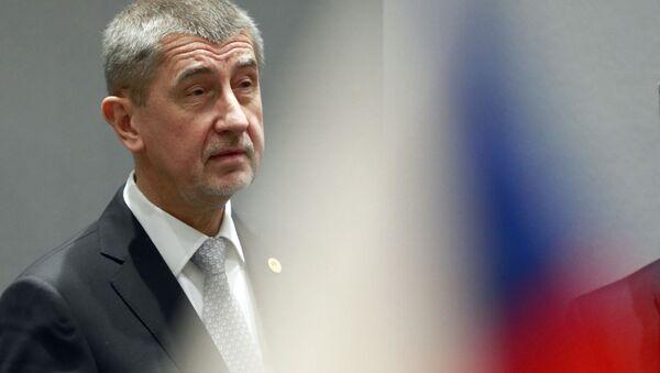 Český premiér Andrej Babiš v Bruselu - Sputnik Italia