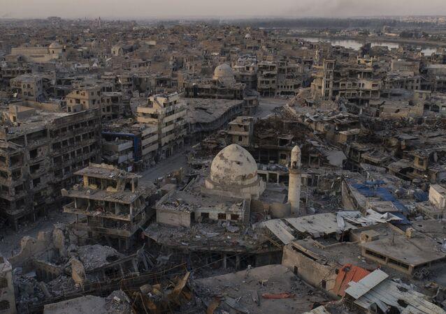 La vista di Mosul