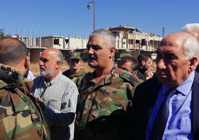 Rifugiati palestinesi tornano al Sud della Siria