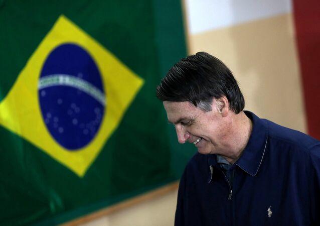 Jair Bolsonaro (foto d'archivio)