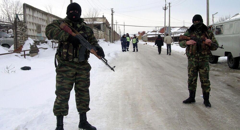 Forze speciali russe in Daghestan