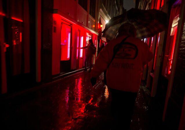Quartiere a luci rosse ad Amsterdam