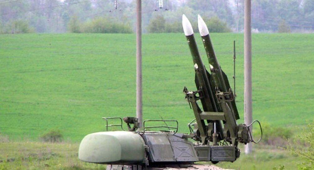 Sistema missilistico antiaereo Buk dell'esercito ucraino