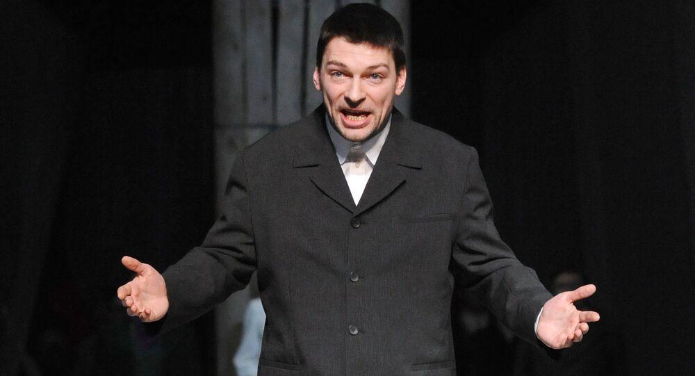 L'attore russo Danil Strakhov