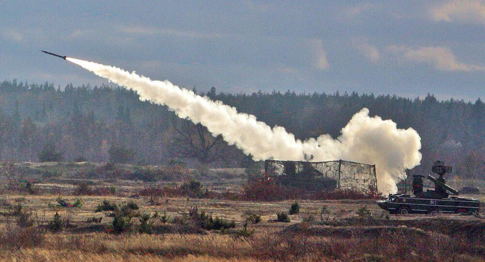 Un missile lanciato da un sistema Osa