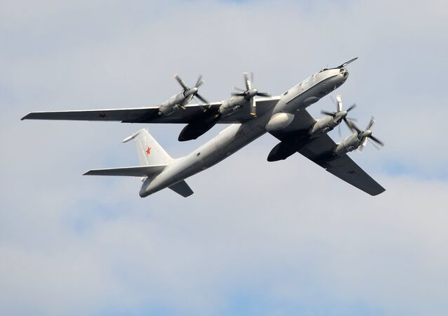 A TU-142 anti-submarine aircraft. File photo
