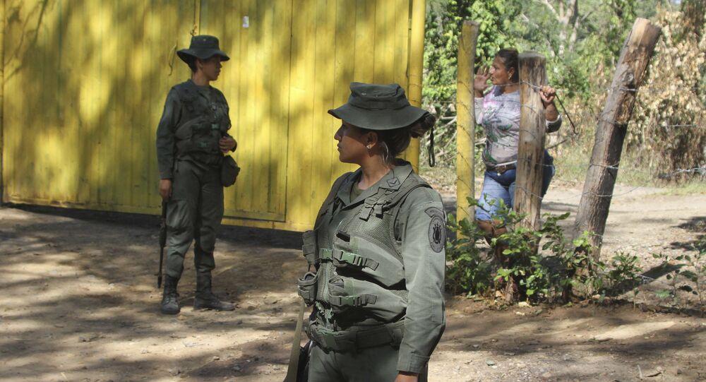 Confine tra Venezuela e Colombia