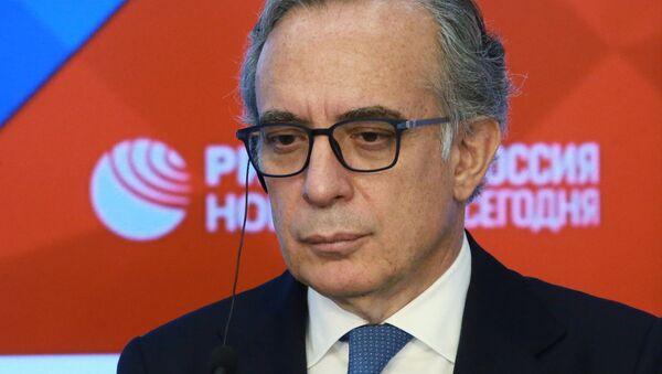 L'ambasciatore d'Italia nella Federazione Russa Pasquale Terracciano - Sputnik Italia