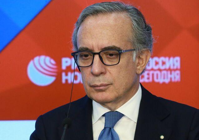 L'ambasciatore d'Italia nella Federazione Russa Pasquale Terracciano