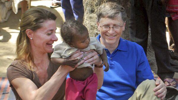 Bill Gates e Melinda Gates - Sputnik Italia