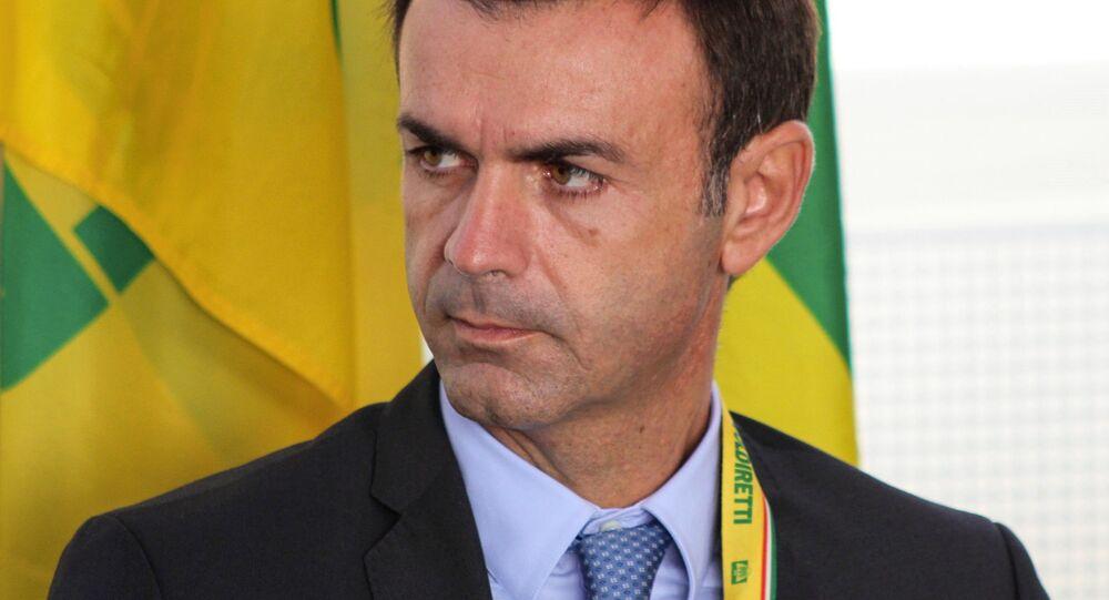 Il presidente nazionale di Coldiretti Ettore Prandini
