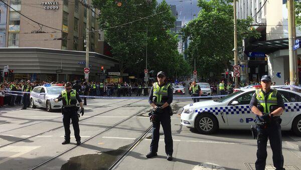 Polizia blocca il luogo dell'incidente a Melbourne - Sputnik Italia