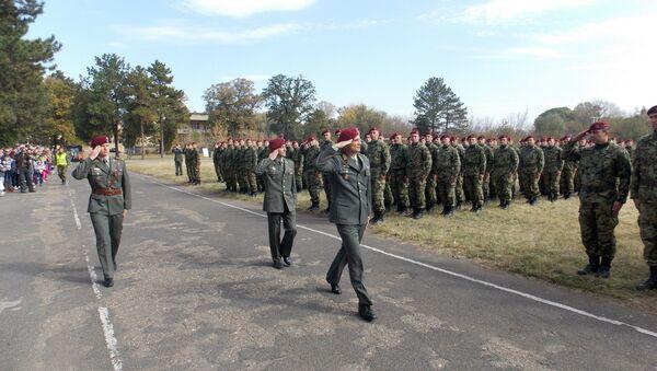 L'esercito serbo - Sputnik Italia