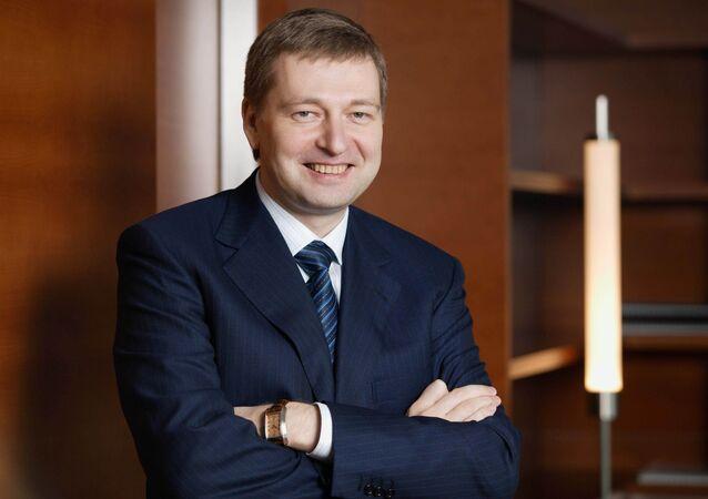 Il proprietario della società calcistica AS Monaco Dmitry Rybolovlev