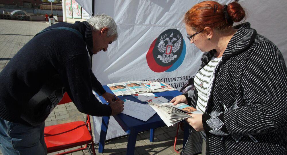 Elezioni nel Donbass