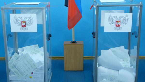 Elezioni a Donetsk - Sputnik Italia