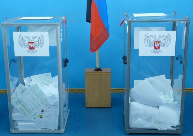 Elezioni a Donetsk