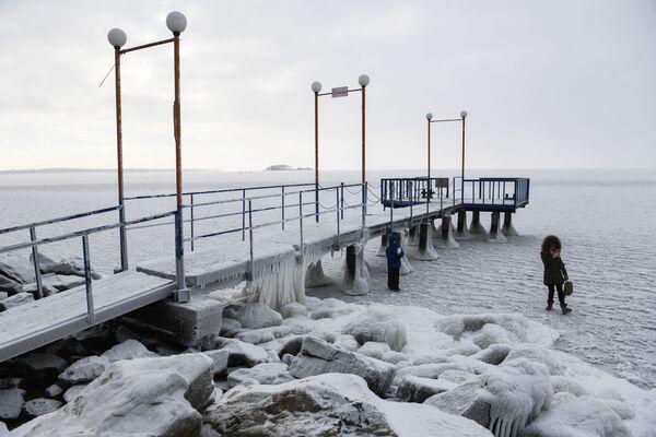 Il Generale Inverno arriva in Siberia - Sputnik Italia
