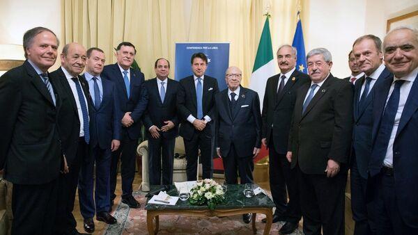 Conferenza per la Libia a Palermo - Sputnik Italia