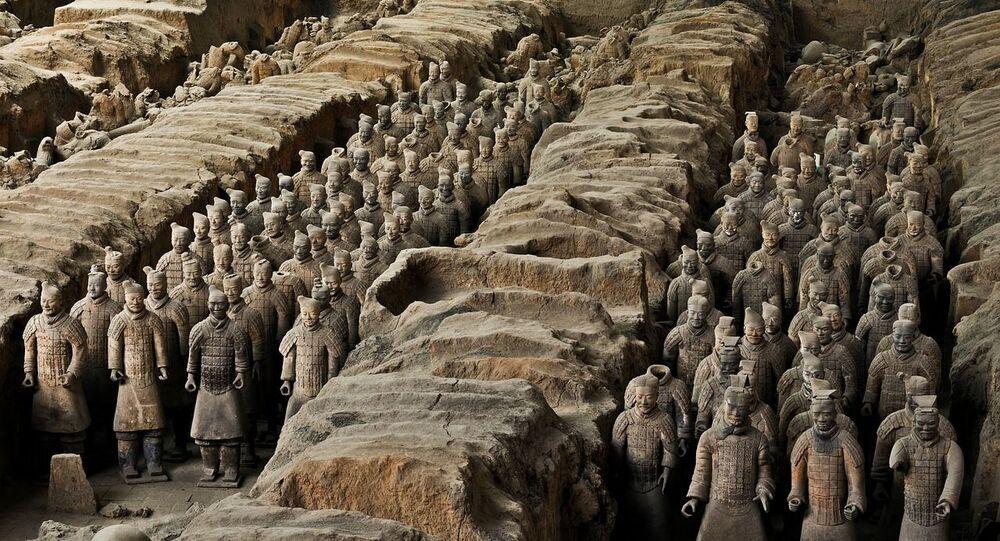 Esercito di terracotta in Cina