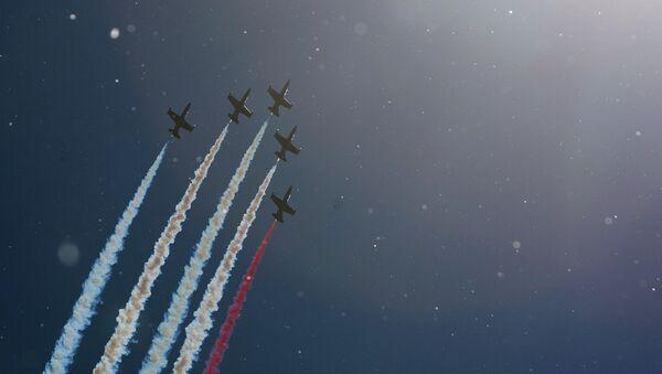 Lo show d'apertura del VII salone della marina militare a San Pietroburgo - Sputnik Italia