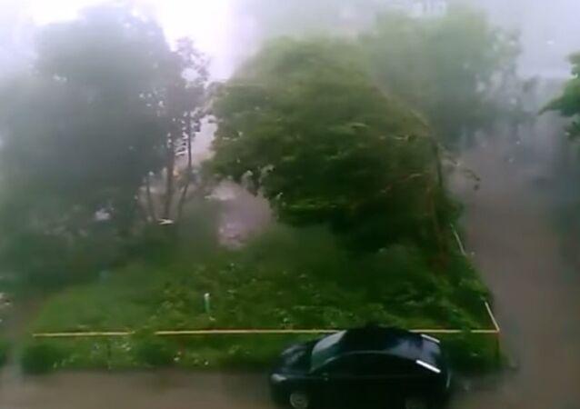 Uragano a Perm