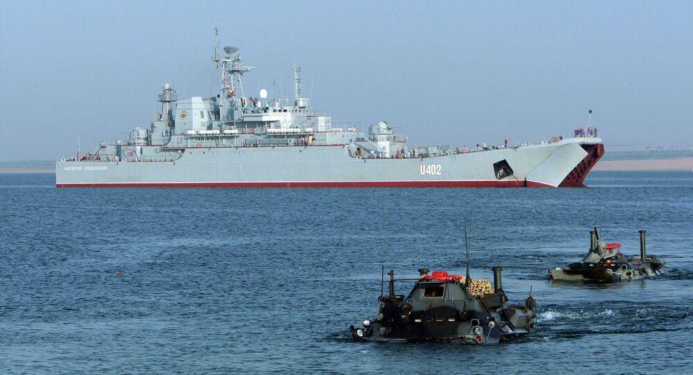Esercitazioni navali NATO Sea Breeze-2017