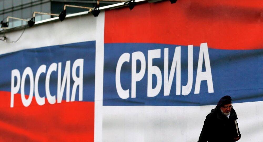 Popolarità della Russia in Serbia (foto d'archivio)