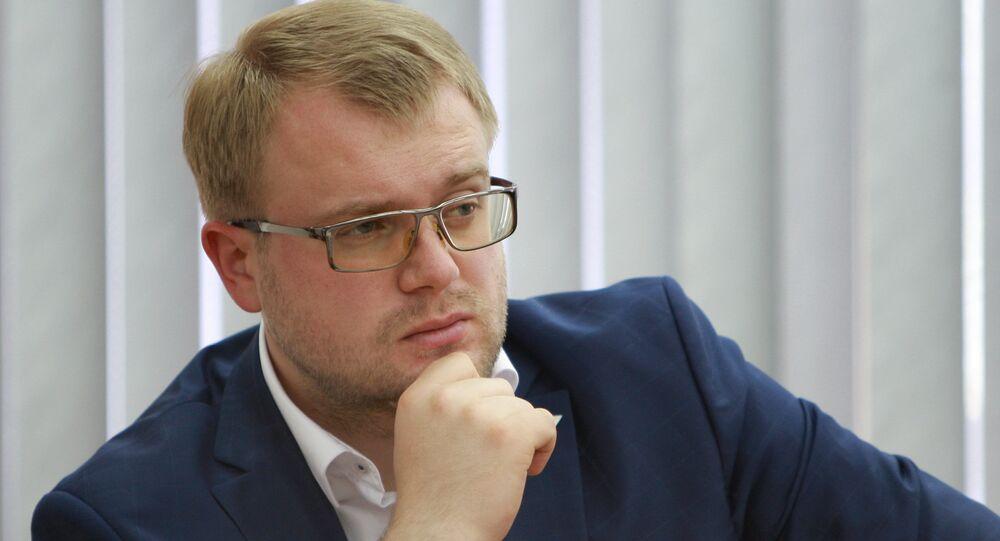 Il vice primo ministro della Repubblica di Crimea Dmitry Polonsky