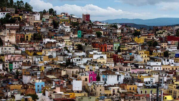 Una veduta della città di Zacatecas, Messico. Felipe VI e Letizia di Spagna l'hanno visitata durante il loro primo viaggio nelle Americhe. - Sputnik Italia