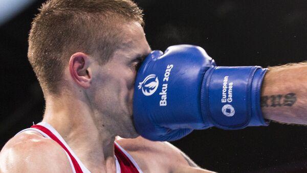 Un incontro di boxe ai Giochi Europei di Baku 2015. - Sputnik Italia